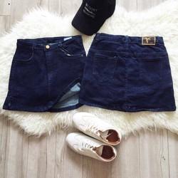 Váy jean ôm