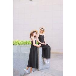 Đầm Maxi Dây Đan Lưng
