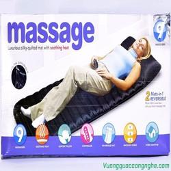 Nệm massage toàn thân 9 điểm 4 vùng