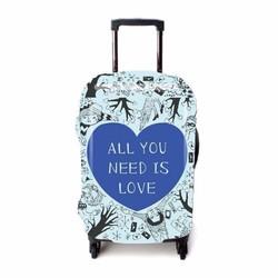 Bao vali size 5 tấc bằng thun cao cấp hình love