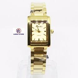 Đồng hồ nữ thời trang. Đồng hồ Halei AH465L cực đẹp,giá cực tốt_Vàng