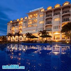Bến Tre Riverside Resort tiêu chuẩn 4 sao - Bao Gồm ăn sáng