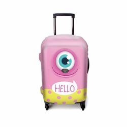 Bao vali size 6 tấc bằng thun cao cấp hình Hello Hồng
