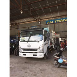 thanh ly xe tải faw 6 tấn 2 thùng dài 4m3