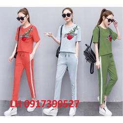 Bộ đồ quần áo thời trang mùa hè kiểu thể thao R16TX057