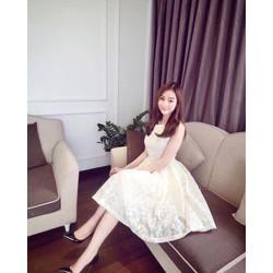 Đầm ren công chúa hàng thiết kế