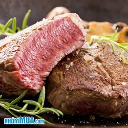 1kg thịt Kangaroo Fillet tươi nhập khẩu trực tiếp từ Úc