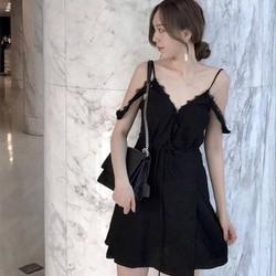 👉 Đầm Xoè 2 Dây Quảng Châu