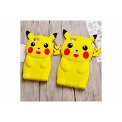 Ốp lưng Samsung J7-E7-A7 dẻo 3d hình Pikachu
