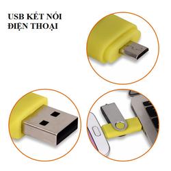 USB 16 GB KẾT NỐI VỚI ĐIỆN THOẠI