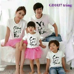 đồng phục áo gia đình