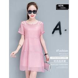 Đầm Hàn Quốc sành điệu, đầm suông phong cách