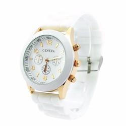 Đồng hồ nữ dây nhựa dẻo Geneva GN1