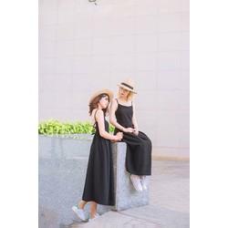 👉 Đầm Maxi Dây Đan Lưng