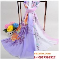 khăn choàng nữ, khăn choàng đi biển, khăn choàng Hàn Quốc L12310