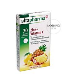 Viên uống bổ sung Kẽm và Vitamin C Altapharma từ đức