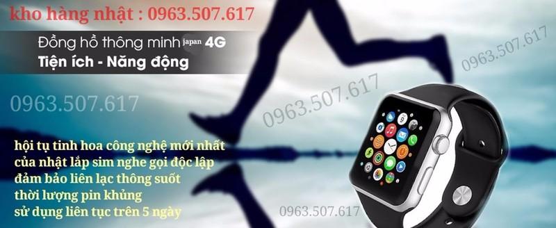 điện thoại đồng hồ nhập nhật siêu bền mã Fi-11 6