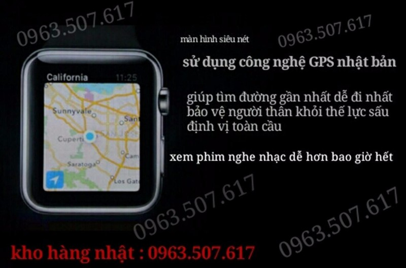 điện thoại đồng hồ nhập nhật siêu bền mã Fi-11 8