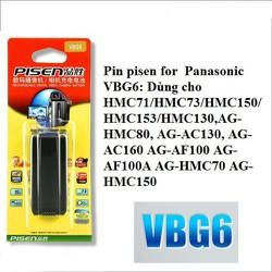 Pin Pisen. VBG6 cho máy quay panasonic.