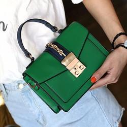 Túi xách Aldo màu xanh lá