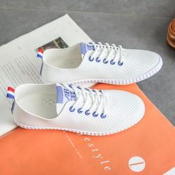 Giày mọi thời trang nữ cột dây hàng nhập - LN1309