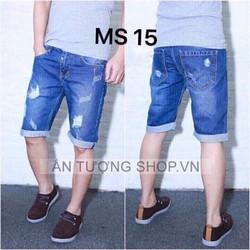 Quần Short Jeans Nam Rách Thời Trang 25