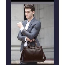 Túi đeo chéo da nam