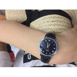 Đồng hồ nữ Yazole Ah278 chống 3ATM.Đồng hồ thời trang giá tốt-Đen