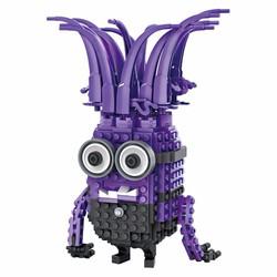Bộ đồ chơi lego xếp hình cao cấp minions tím