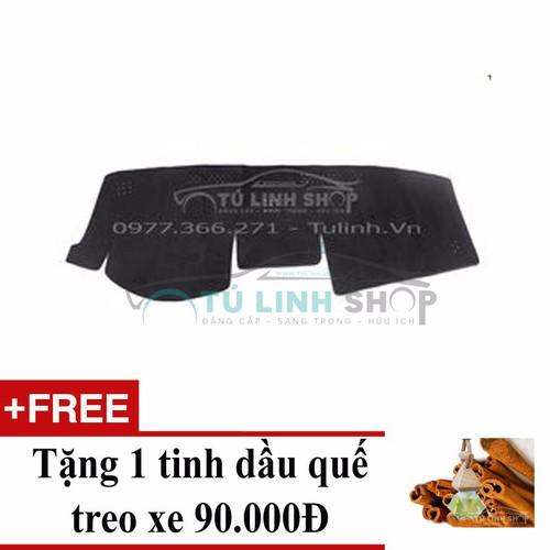 Thảm chống nắng taplo Camry 2014 Việt Nam+ Tặng 1 tinh dầu quế treo xe