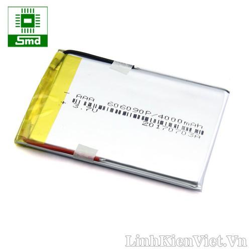 Pin lithium 606090 4000MAH 3_7V
