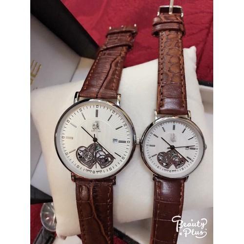 đồng hồ da nữ