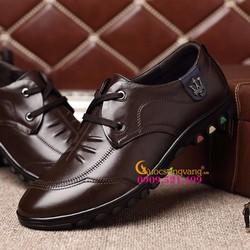 Giày tây nam đế thể thao da thật GLG049