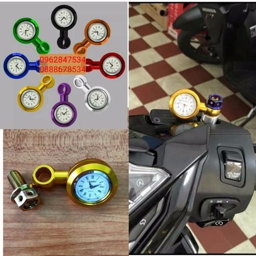 Đồng hồ nhỏ xe máy