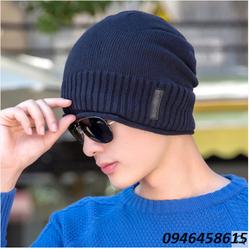 nón len nam, nón nam Simple man thời trang model Korean mới HNNl70