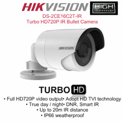 Camera HIKVISION DS-2CE16C0T-IR 1.0 Megapixel Full HD 720