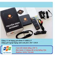 Freeship FPTPlay box 2017 chính hãng bảo hành toàn quốc