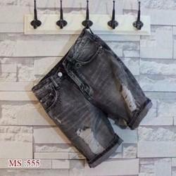 Quần Jeans Short Nam Rách Thời Trang Cao Cấp 555