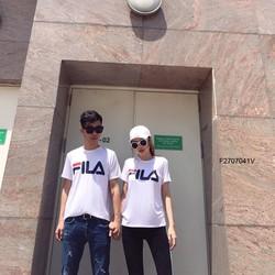 Set áo FILA cặp tay con hàng thiết kế -MS: S270774 Gs: 140k