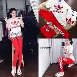 Set bộ thun  quần dài đỏ hàng thiết kế -MS: S270722 Gs  140k