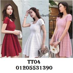 Váy Len Dệt Kim TT04