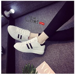 Giày Sneaker Nam Trắng Thanh Lịch