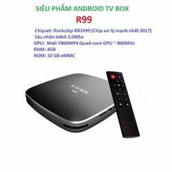 Android tivi box R99 4g ram