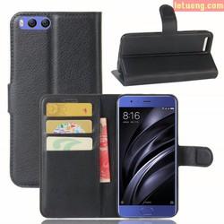 Bao da Xiaomi Mi 6 LT Flip Wallet dạng ví đa năng, khung mềm