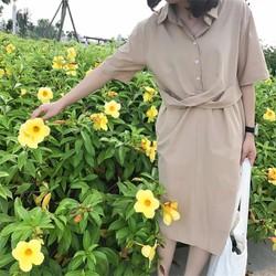 Váy cổ bè SM