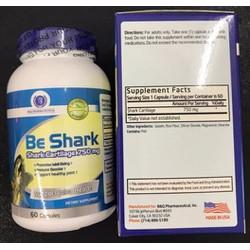 BE SHARK Giảm đau viêm khớp, tăng cường chức năng sụn