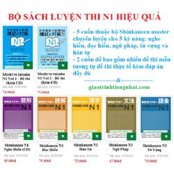 Bộ sách luyện thi N1 hiệu quả – 5 kỹ năng và đề thi