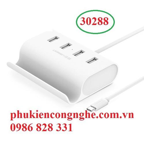 Cáp USB Type C ra 4 cổng USB 2.0 chính hãng UGREEN 30288 - 7691796 , 6210172 , 15_6210172 , 250000 , Cap-USB-Type-C-ra-4-cong-USB-2.0-chinh-hang-UGREEN-30288-15_6210172 , sendo.vn , Cáp USB Type C ra 4 cổng USB 2.0 chính hãng UGREEN 30288