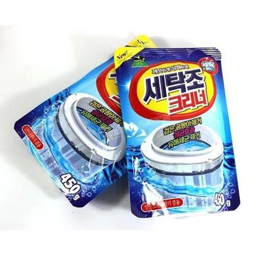 Bộ 2 Gói bột tẩy vệ sinh lồng máy giặt cao cấp 450g - 5384709 , 8994507 , 15_8994507 , 130000 , Bo-2-Goi-bot-tay-ve-sinh-long-may-giat-cao-cap-450g-15_8994507 , sendo.vn , Bộ 2 Gói bột tẩy vệ sinh lồng máy giặt cao cấp 450g