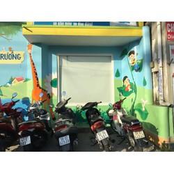vẽ tranh tường mầm non giá rẻ tại sài gòn